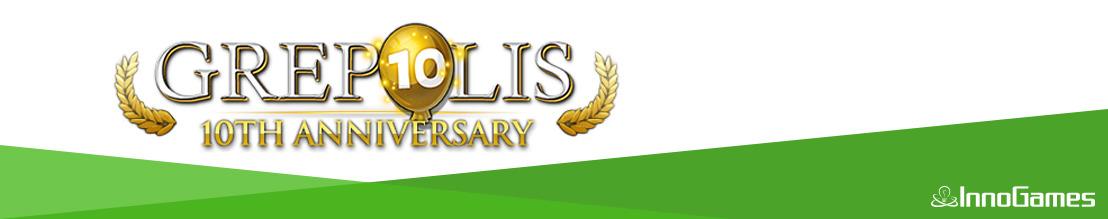 InnoGames-Klassiker Grepolis feiert zehnjähriges Jubiläum