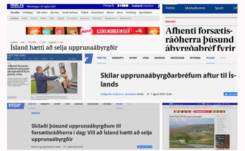 Belgisch energieplatform Bolt haalt krantenkoppen in IJsland door verrassingsactie met garanties van oorsprong aan de deur van premier