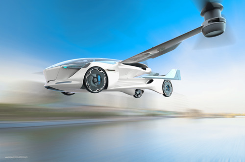 AeroMobil Unveils AeroMobil 5.0 VTOL Concept - the first and only electric VTOL to also drive on the road, enabling flexible door-to-door flying-taxi service.