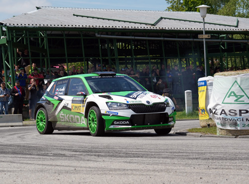 Rally Portugal: World championship debut for ŠKODA FABIA R5 evo with Kopecký and Rovanperä