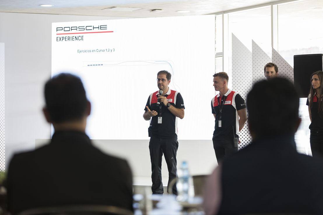 Porsche cena con pilotos certificados en el Master S