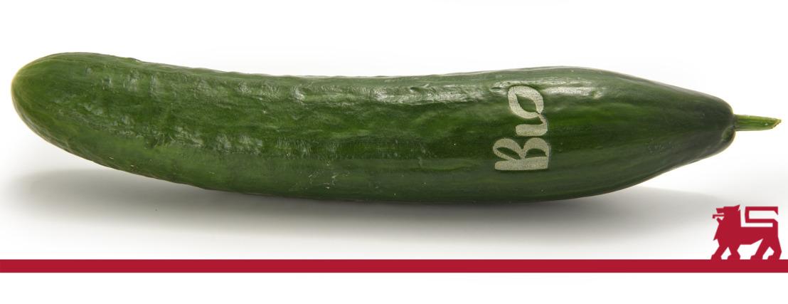 Volledig bio-assortiment fruit en groenten van Delhaize op termijn zonder wegwerpplastic verpakking