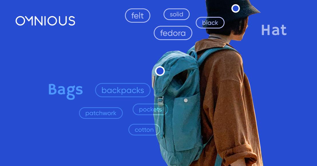가방, 모자까지 옴니어스 태거 AI가 지원합니다.
