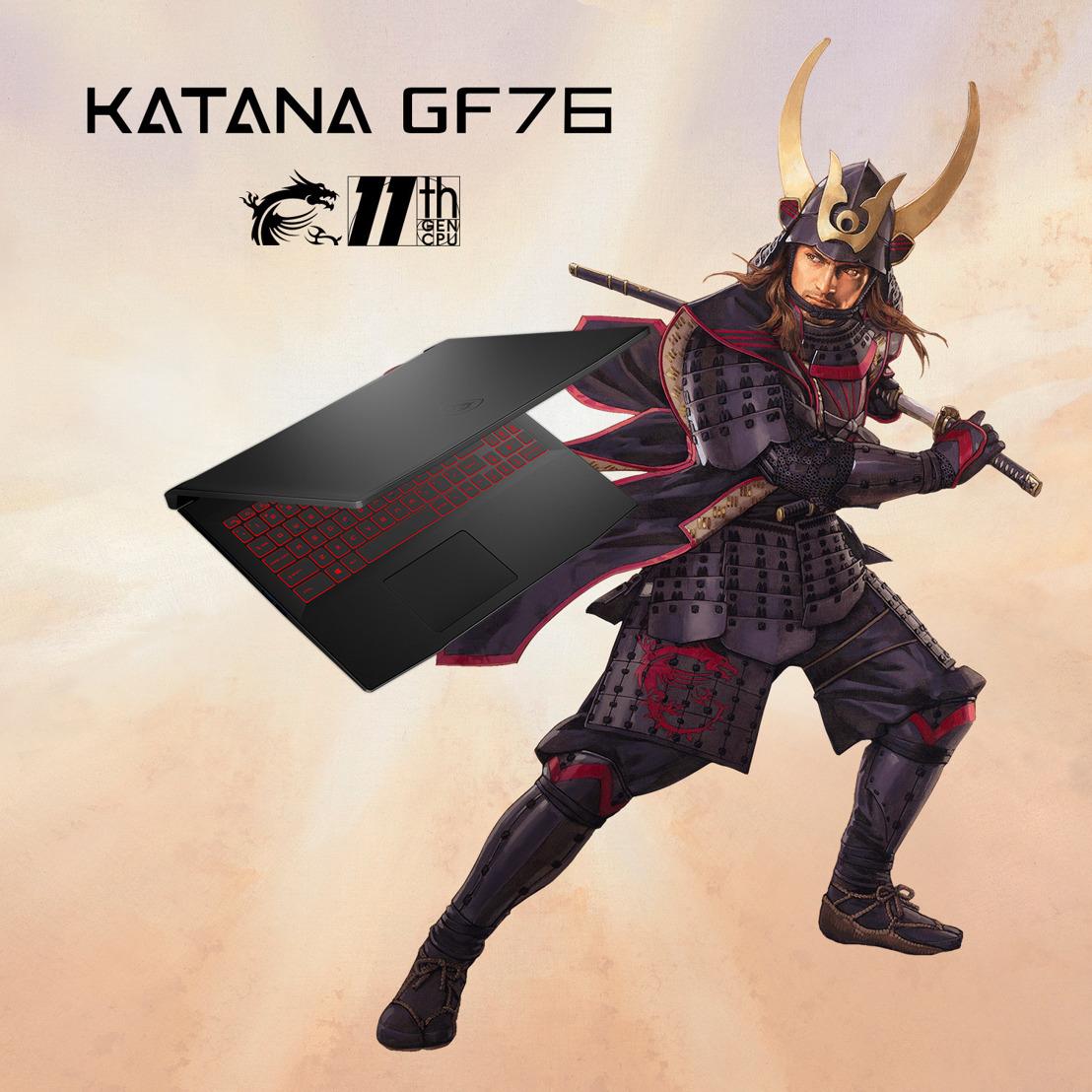 Katana GF76 und GF66: Laptop der Meister