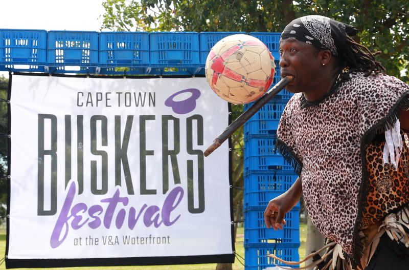 A sneak preview of the CT Buskers Festival in Nantes Park, Athlone pic Nardus Engelbrecht 2016