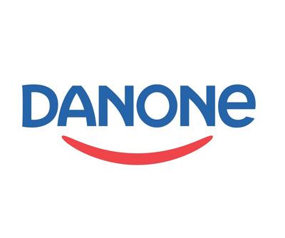 Danone - verse zuivelproducten perskamer Logo