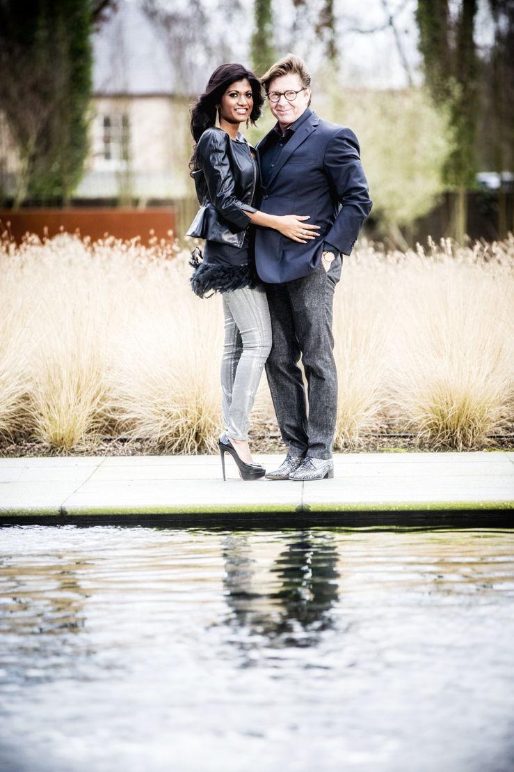 Aisha & Philippe Cracco