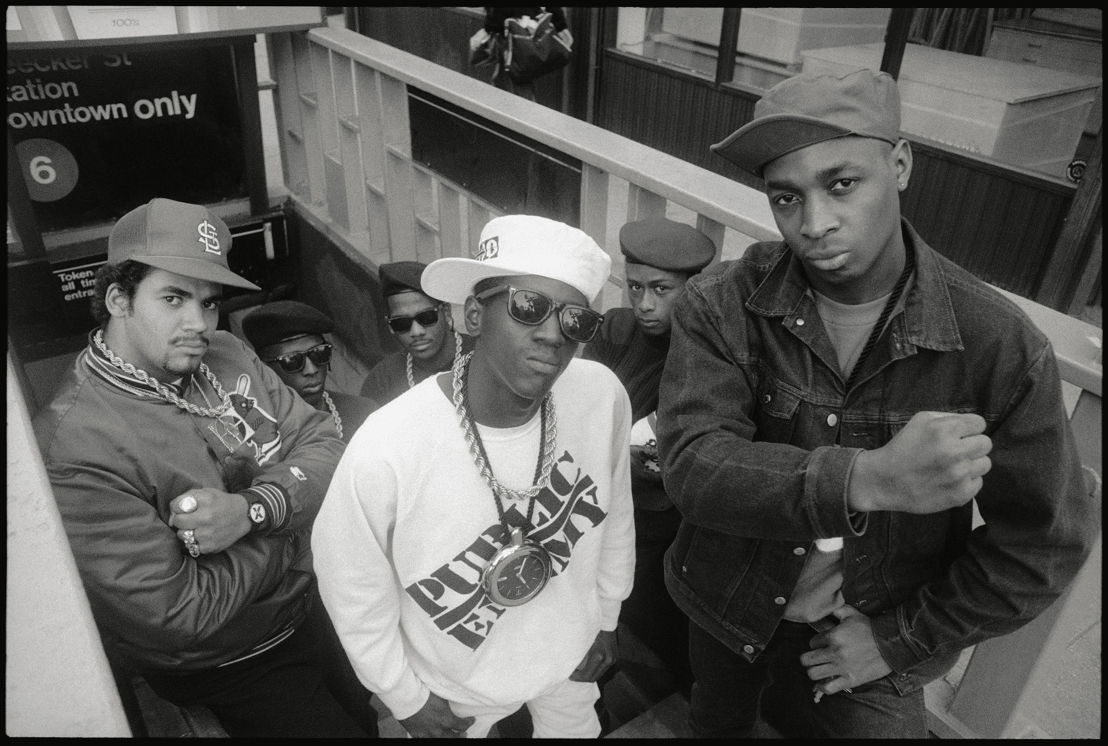 Public Enemy - (c) Glen E. Friedman
