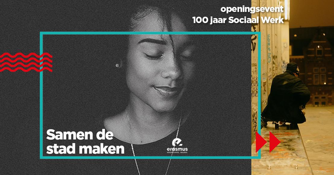 Erasmushogeschool Brussel geeft aftrap feestjaar '100 jaar opleiding Sociaal Werk'