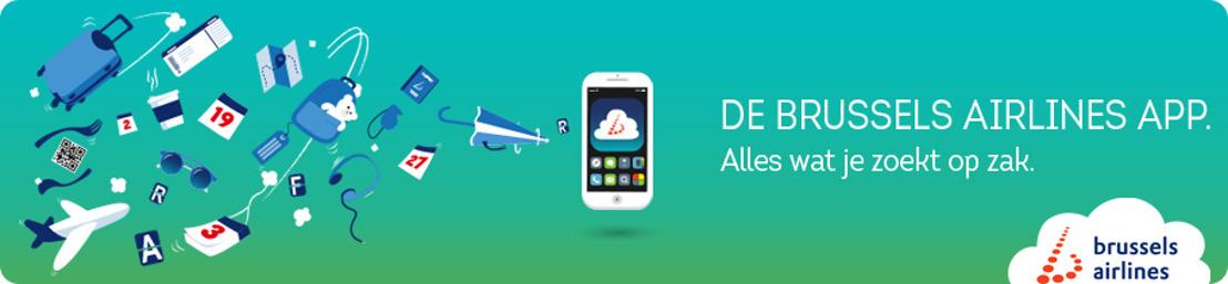 Brussels Airlines start jaar van digitalisatie met lancering app