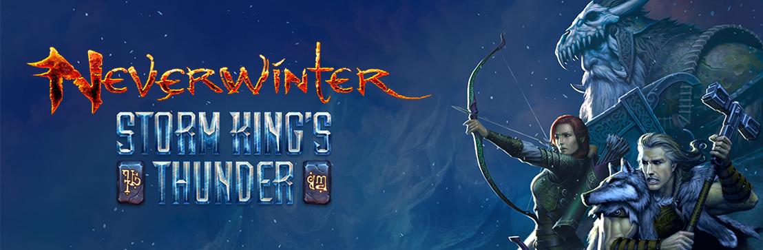 Le second volet de Neverwinter : Storm King's Thunder sort le 8 novembre sur PC