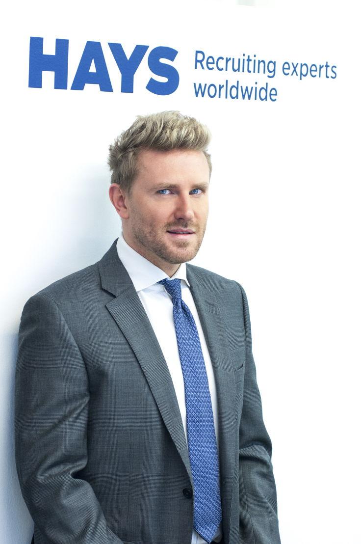 Robby Vanuxem, Managing Director de Hays Belgique