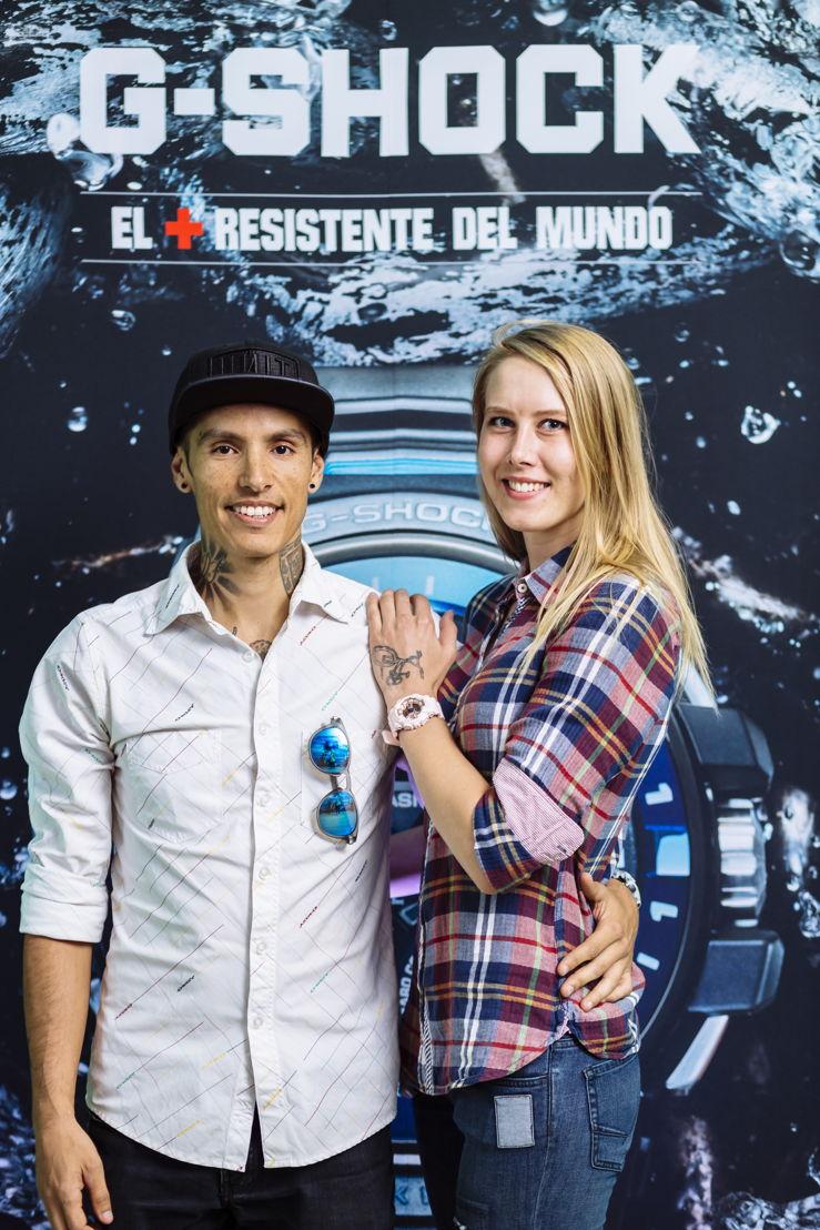 Jonna Johnsen y Manuel Riestra