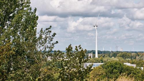 Luminus organiseert een online infosessie over windproject in Houffalize