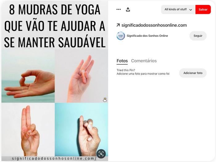Dia Mundial da Yoga: 15 dicas e posturas no Pinterest para iniciantes