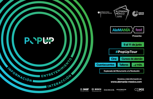 Invitación: Recorrido con medios PopUp Tour CDMX