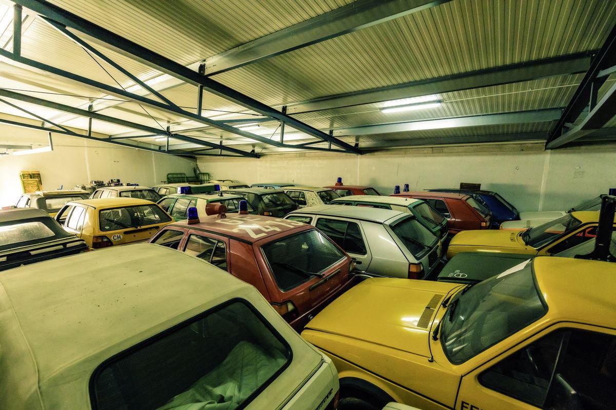La parte menos carismática de la colección está conformada por vehículos usados por distintas autoridades