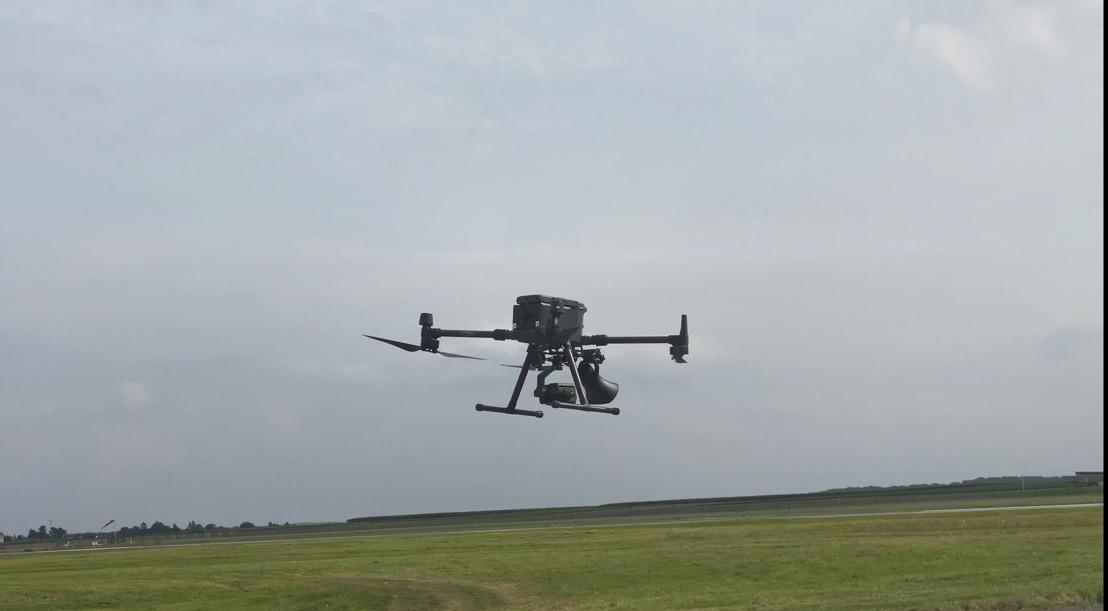 Brussels Airport en skeyes testen drones voor vogelwering tijdens normale operaties