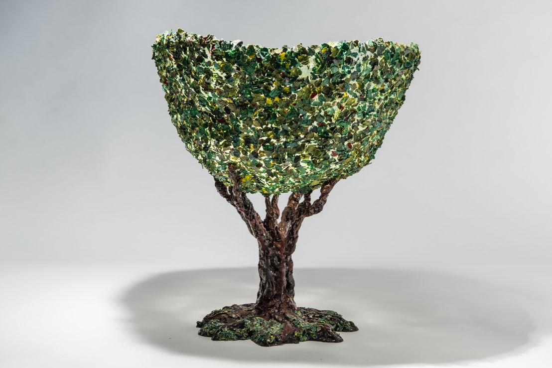 Gaetano Pesce: Tree Vase 1 at The Peninsula Chicago