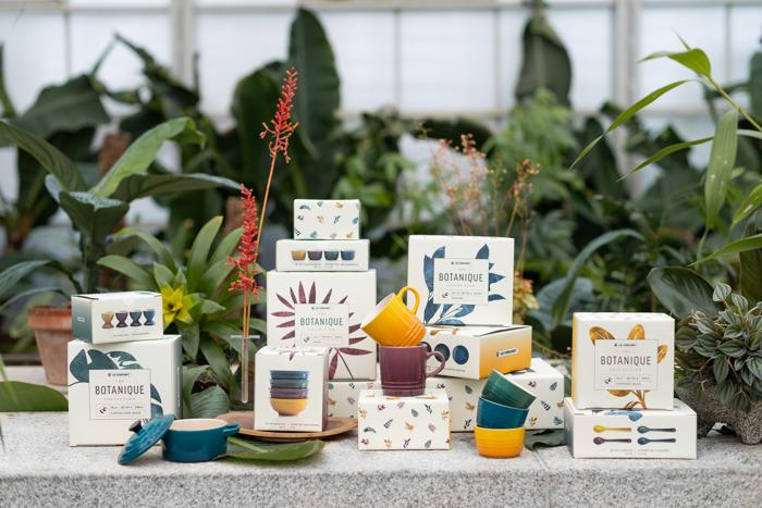 Le Creuset introduceert: The Botanique Collection