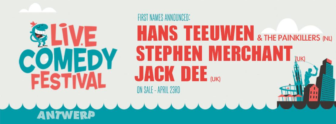 Antwerpen krijgt een eigen Internationaal Comedy Festival