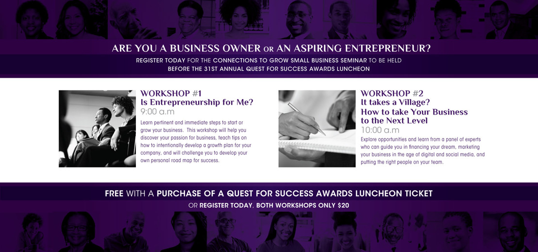 Dallas Black Chamber of Commerce will host their 31st Annual Quest for Success Seminar & Luncheon