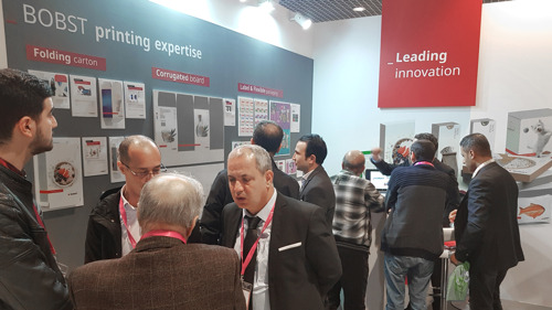 BOBST aims to maximize huge potential in North African market after successful printpack alger 2020