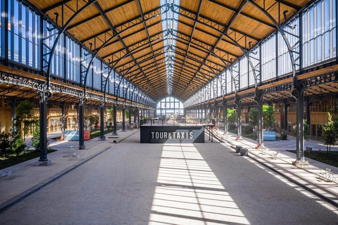 Belgische Food Market in Gare Maritime