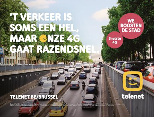 Telenet en TBWA boosten Brussel
