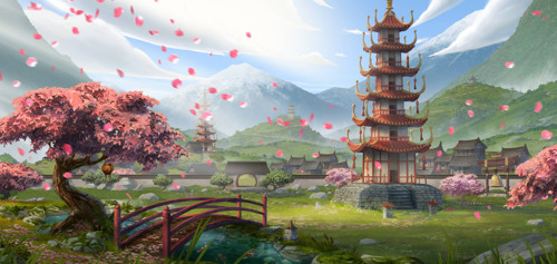 Frühlingserwachen: Forge of Empires feiert das Kirschblütenfest