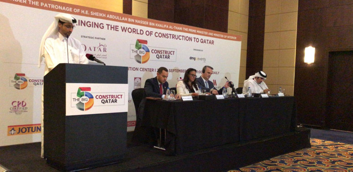 THE BIG 5 CONSTRUCT QATAR RETURNS UNDER THE PATRONAGE OF H.E. SHEIKH ABDULLA BIN NASSER BIN KHALIFA AL-THANI