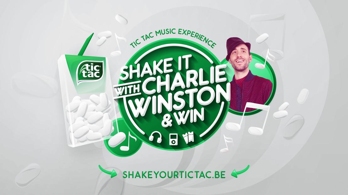 Providence (Havas Belgium Group) nodigt je uit om de  officiële Tic Tac-speler van Charlie Winston te worden