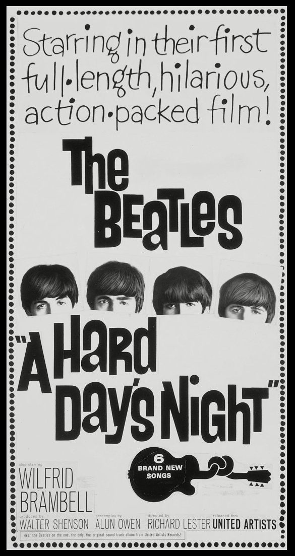 Affiche A Hard Day's Night