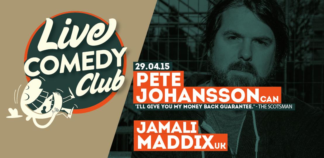 Tweede Live Comedy Club Mechelen