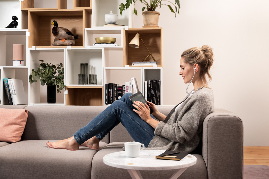 Libratone définit un nouveau standard en matière d'écouteurs intra-auriculaires légers et sans fil à annulation de bruit réglable