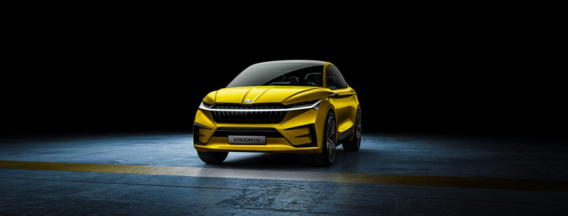 ŠKODA VISION iV offers a look ahead at the brand's electric future