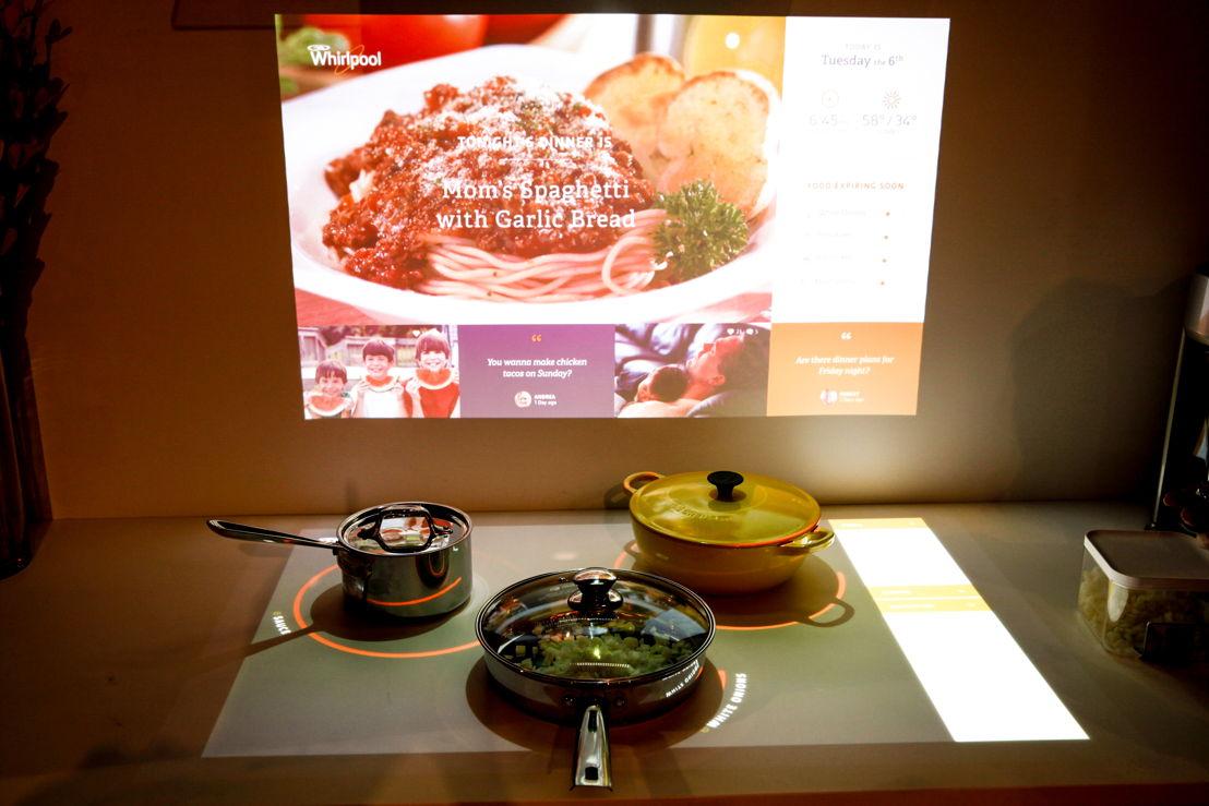 Geconnecteerde keuken : èggo, exclusieve partner van Whirlpool