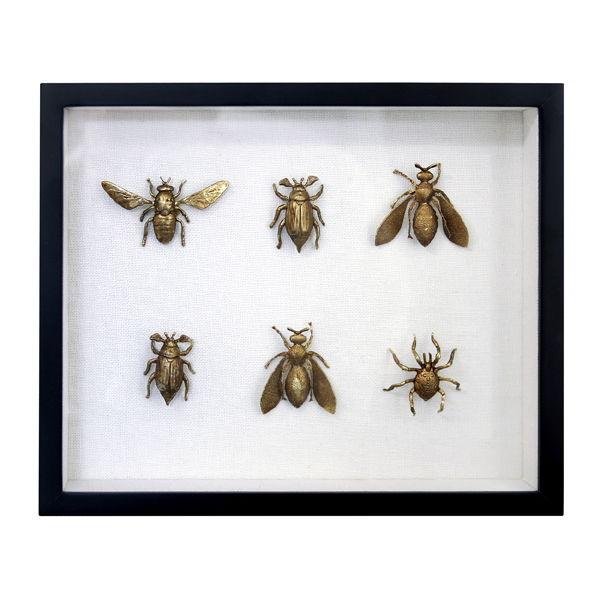 HK Living Messing Insecten Lijstje 89€