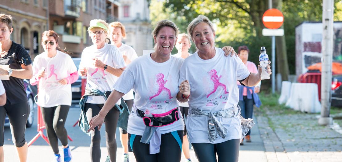 Think-Pinkweekend in Antwerpen: Gezondheidsdag en Race for The Cure