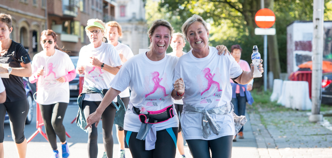 Think-Pinkweekend in Antwerpen: Gezondheidsdag en Race for The Cure
