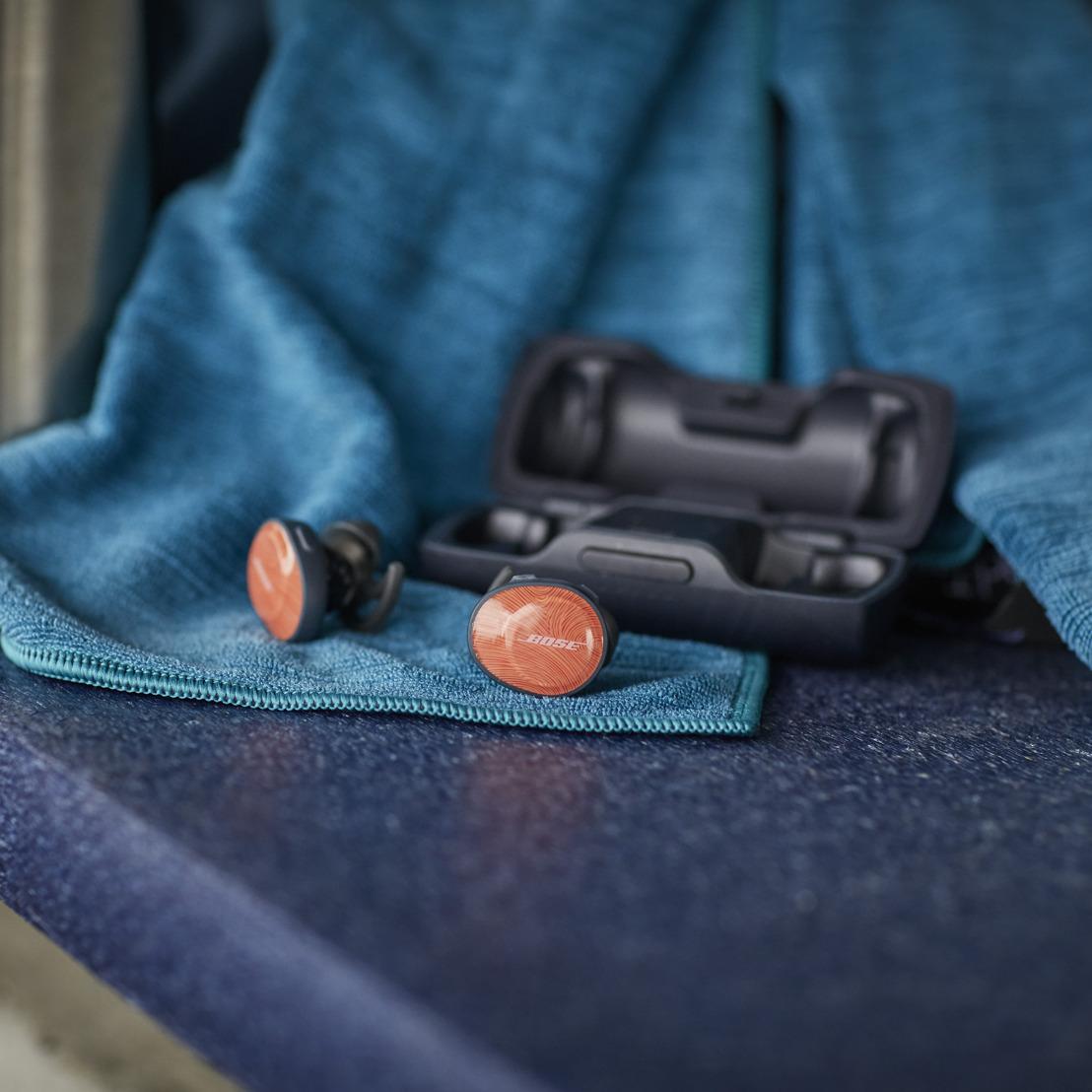 Met de verbeterde Bose draadloze SoundSport Free headphones train je nu nóg beter