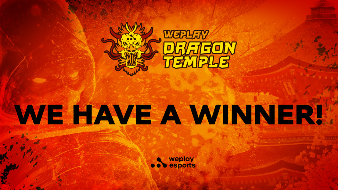 Meet the WePlay Dragon Temple Winner