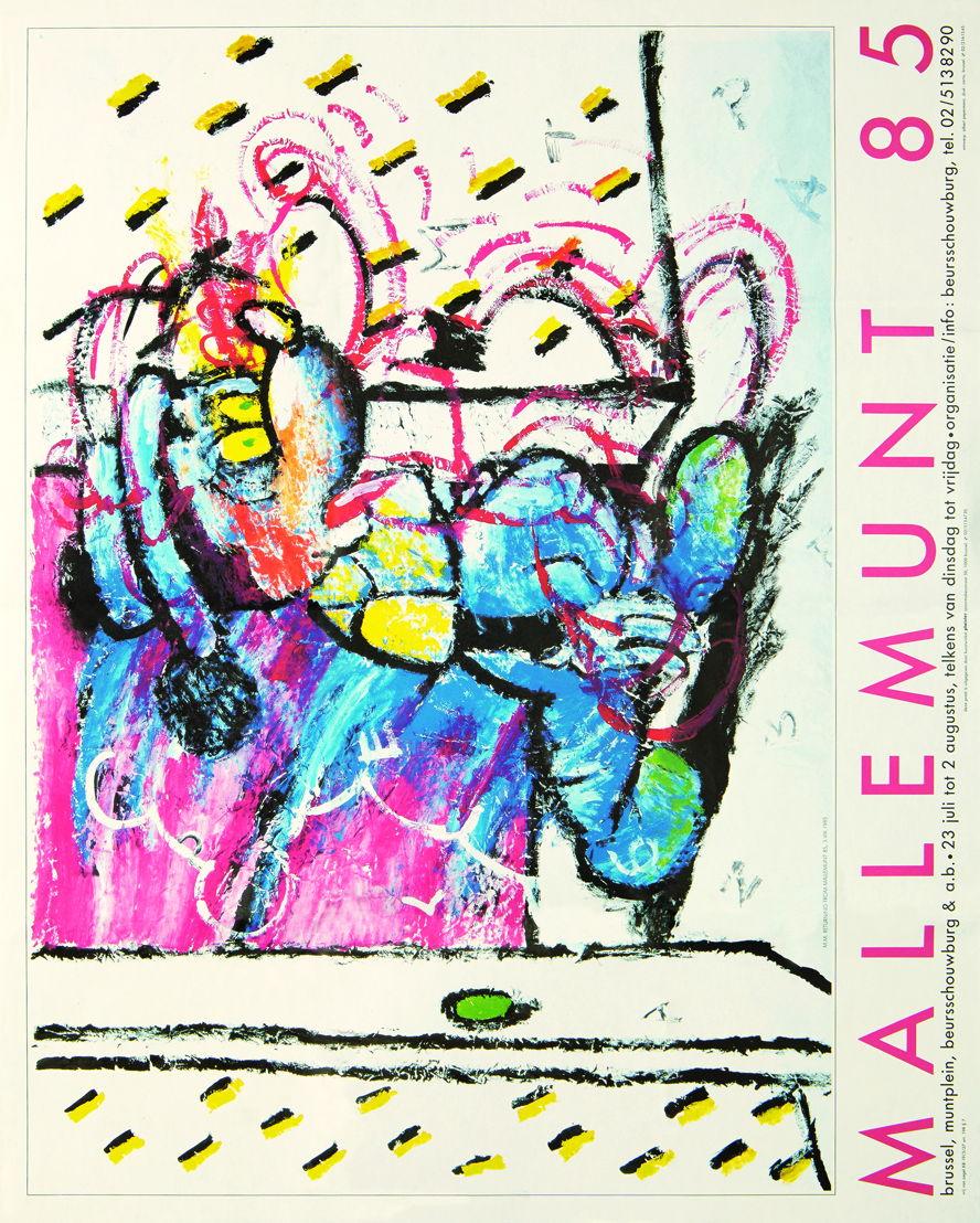 Mallemunt 1985, ontwerp Albert Pepermans