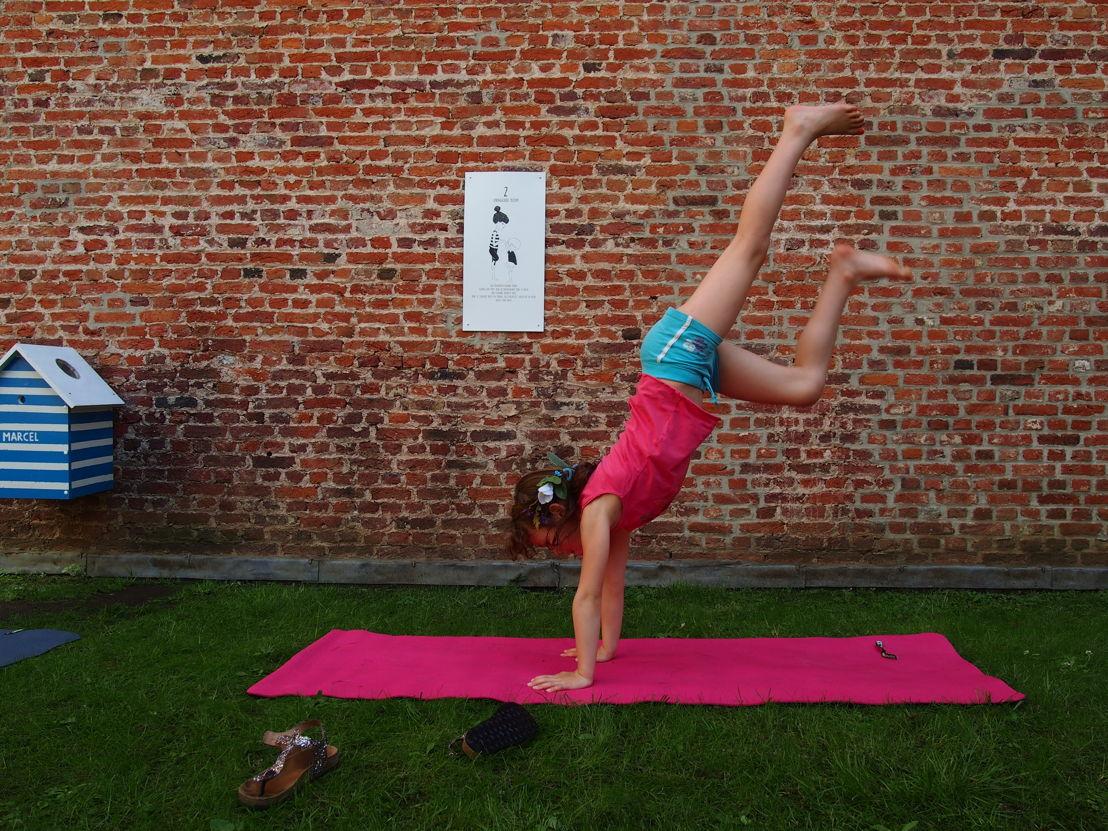 Yoga fit-o-meter | Start zomerprogramma in de Museumspelstraat (c) Andy Merregaert