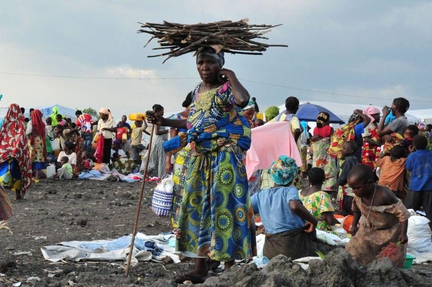 Meer dan één miljoen Congolezen zijn van huis weggevlucht voor het geweld in Kasaï. © T. Mayer