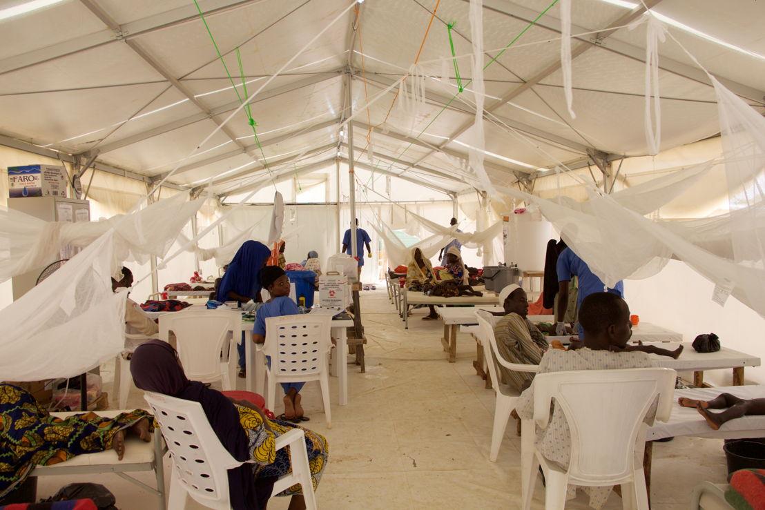 MSF's Cholera Treatment Unit (CTU) in Dala, Maiduguri.