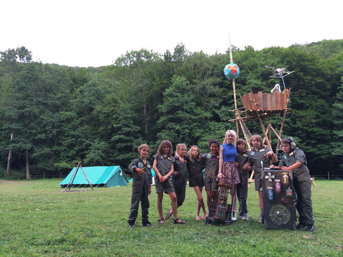 De Geonauten - Op kamp met Charlotte Leysen - (c) Geronimo/VRT