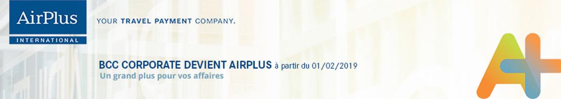 BCC Corporate devient officiellement AirPlus International