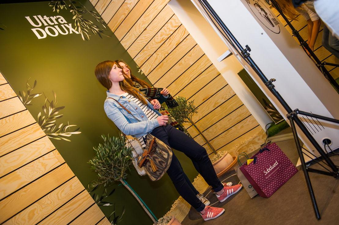 Prenez la pose dans le studio photo Garnier Ultra Doux