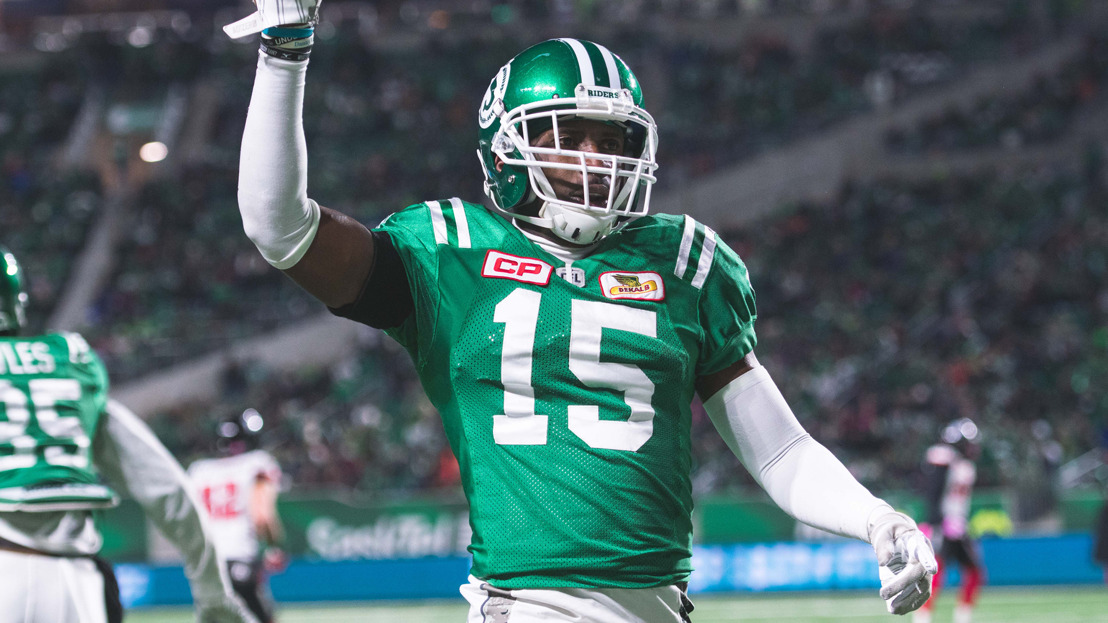 FB: Saskatchewan Roughrider Mike Edem earns CW Alum honour